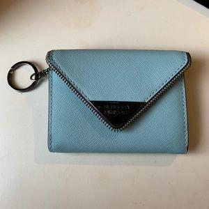 Rebecca minkoff blue Molly metro wallet